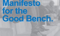 Manifesto for the good bench