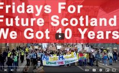 Glasgow March for Climate Justice